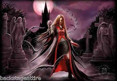 ANNE STOKES Blood Moon 29X43 Cloth Fabric Textile Poster Flag Wall Banner New!!!