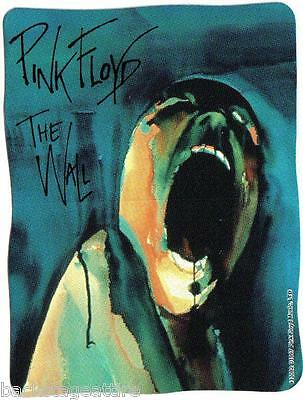 Pink Floyd The Wall Head Vintage 1997 Gilmour Waters Vinyl Sticker Bumper-New!!