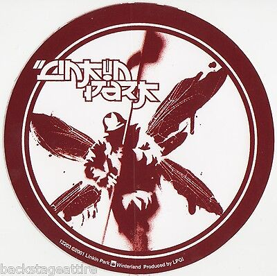 Linkin Park Red Soldier Vintage 2001 Alternative Rock Vinyl Sticker Bumper-New!!