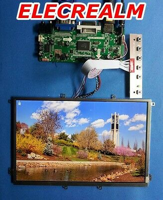 HDMI DVI VGA Audio Board + 10.1inch 1280x720 B101EW01 B101EW01 LTN101AT01-A01