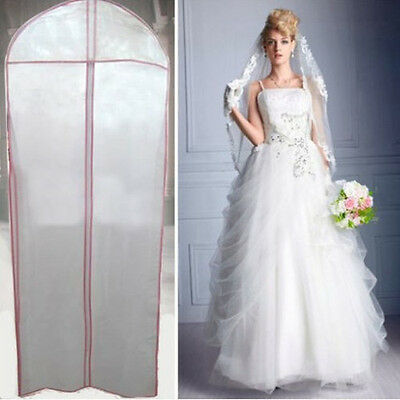 Bridal Wedding Dress Gown Garment Party Ball Storage Bag Cover Clothes Protector