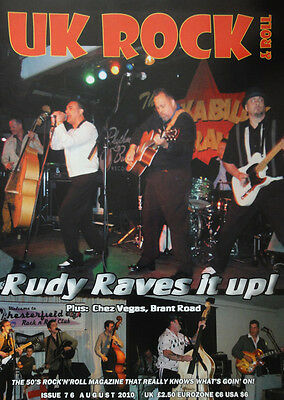 UK ROCK 'n ROLL MAGAZINE Issue 76 - Rudy La Crioux, Crazy Cavan, rockabilly