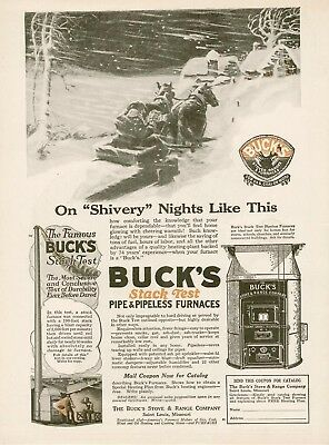 1920 Buck Stove & Range Co furnaces stack test AD