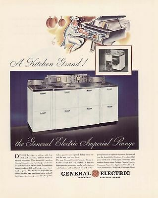 1935 AD General Electric Imperial Range stove