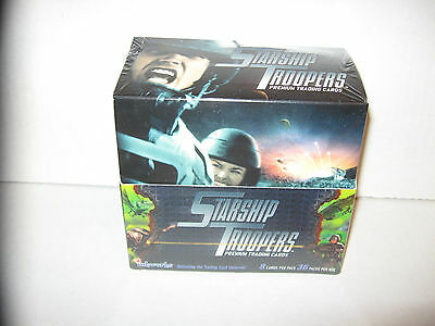 STARSHIP TROOPERS MOVIE WAX BOX 36 PACKS CARDS W/ FULL SET + INSERTS BUG WARS+