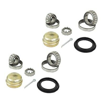 Audi 100 Series 4000 Coupe Fox VW Cabrio Dasher Set of 2 Rear Wheel Bearing Kits