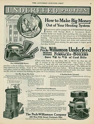 1910 AD Peck-Williamson furnace, boilers-