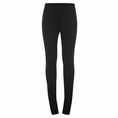 Campri Mens Thermal Sports Leggings Mens Thermal Long Pants Black Base Layer