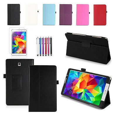 "UK New Leather Smart Stand Case Cover For Samsung Galaxy Tab 4 7.0"" Inch SM-T230"