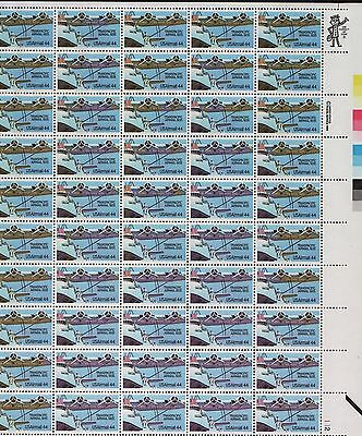 #c115 Var Yellow Color 99% Omitted On 28 Stamps Sheet W/ Pfc Major Error Wl6869