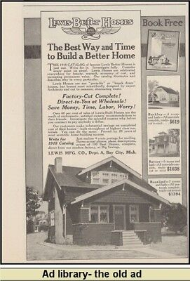 1918 AD Lewis built home systems-Bay City, Mich.
