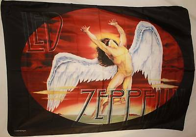 LED ZEPPELIN Icarus Cloth Poster Flag Textile Fabric Tapestry Wall Banner-New!