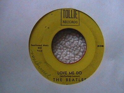 """THE BEATLES """"LOVE ME DO"""" / 'P.S. I LOVE YOU"""" 7"""" 45"""