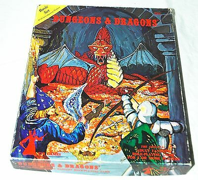 Dungeons & Dragons Basic Set 1980 TSR Games 1001 Game Book Search Of The Unknown