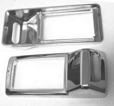 A/C Heater vent trims for left or right chrome plastic Kenworth 2002+