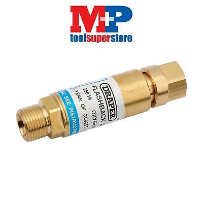 Draper 35019 In-Line Oxygen Flashback Arrestor