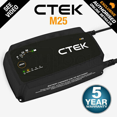 CTEK Lithium XS Smart Battery Charger Trickle Motorcycle Car Bumper Cover 12V 5A