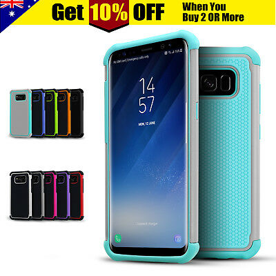Samsung S5 Shockproof Case Heavy Duty Hard Armor Cover For Galaxy S6 S7 edge