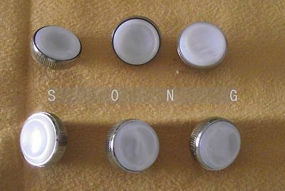 3 pcs trumpet finger buttons for repairing parts +buttons pearl