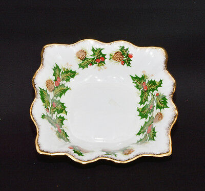 Queen's/Rosina China Yuletide Nut Dish