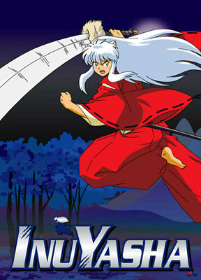 Inuyasha Leaping Fabric Poster