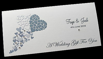 Personalised Wedding Day Money/Voucher/Gift Card/Wallet/Envelope