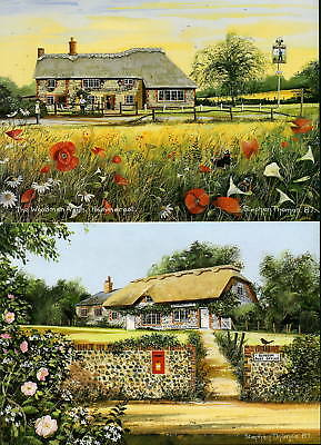 SUSSEX & KENT SCENES GREETINGS CARDS BLANK 7 DIFFERENT