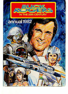 BUCK ROGERS IN THE 25th CENTURY ANNUAL 1982 / FINE- / UNCLIPPED.