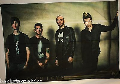 AFI A Fire Insdie Crash Love Group Cloth Poster Flag Fabric Textile Tapestry-New