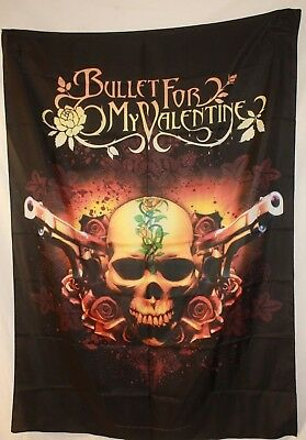 BULLET FOR MY VALENTINE BFMV Band Photo Textile Fabric Cloth Poster Flag New!!!!