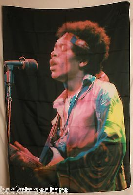 Jimi Hendrix Color Photo Cloth Poster Flag Fabric Textile Tapestry Banner-New!