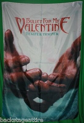 BULLET FOR MY VALENTINE BFMV Temper Temper CD Cover Art Fabric Cloth Poster Flag