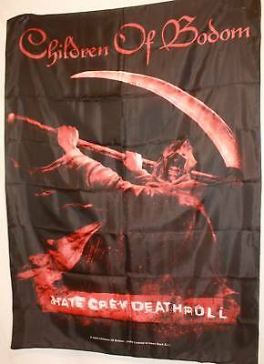 Children of Bodom Hate Crew Cloth Poster Flag Fabric Textile Tapestry Banner-New
