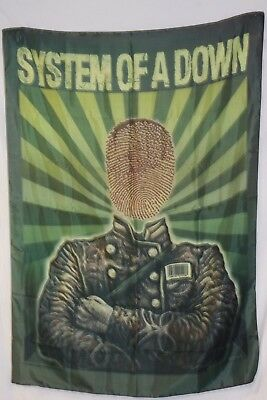 System Of A Down Soad Saran Wrap Straight Jacket Cloth Poster Flag Tapestry-New!
