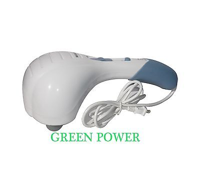 Vibrating Double Head Electric Neck Back Relax Full Body Massager Handheld