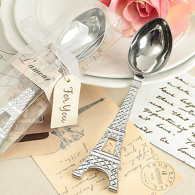 Ice Cream Scoop - Eiffel Tower Handle - One Piece Metal - Chrome  Silver Plated