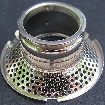 ALADDIN #23  #23a OUTER WICK TUBE oil lamp Nickle Nickel