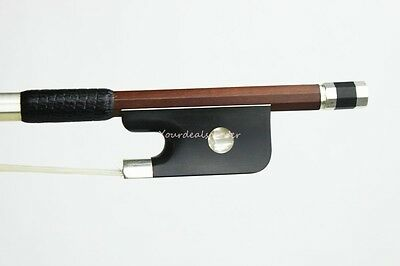 ***Fine Pernambuco*** Cello Bow 4/4 ---Peccatte Model ---Silver Mount