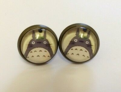 My neighbour Totoro Studio Ghibli Japan anime quirky kitsch gift stud Earrings
