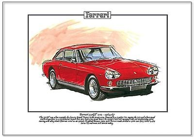 FERRARI 330GT 2+2 1964-67 Kunstdruck - Grand Tourer