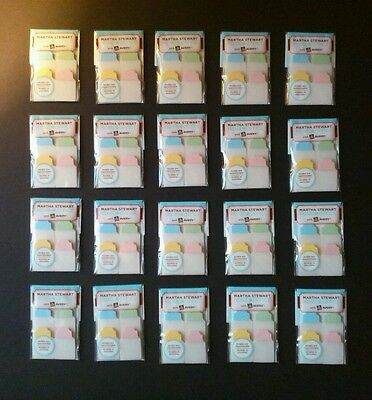 **SALE** Martha Stewart Home Office Notetabs Note Tabs 40ct ea ~Avery Lot of 20