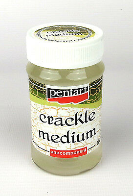 Pentart Crackle Medium Classic, Single-Component 100ml