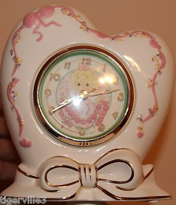 Precious Moments Porcelain Clock by The Valdawn watch company