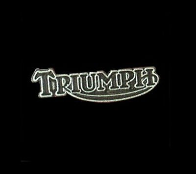 Triumph Motorcycle Vest Pin Made In The Usa