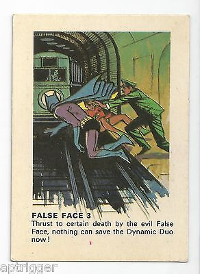 "1966 Batman Weeties & Rice Krinkles "" False Face 3 """