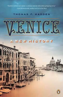 Venice: A New History by Thomas F. Madden (English) Paperback Book Free Shipping