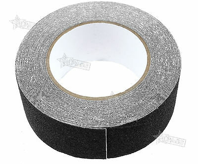 50mmx10M High Grip Anti Slip Tape Non Slip Adhesive Backed Conformable Black