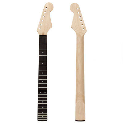 Electric Guitar Neck For ST Parts Replacement 22 Fret Rosewood Fretboard Maple