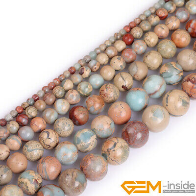 """Natural Shoushan Stone Round Beads For Jewelry Making 15"""" 4mm 6mm 8mm 10mm 12mm"""