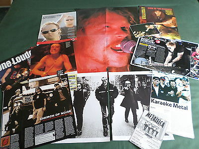 Metallica - Music Celebrity - Clippings /cuttings Pack